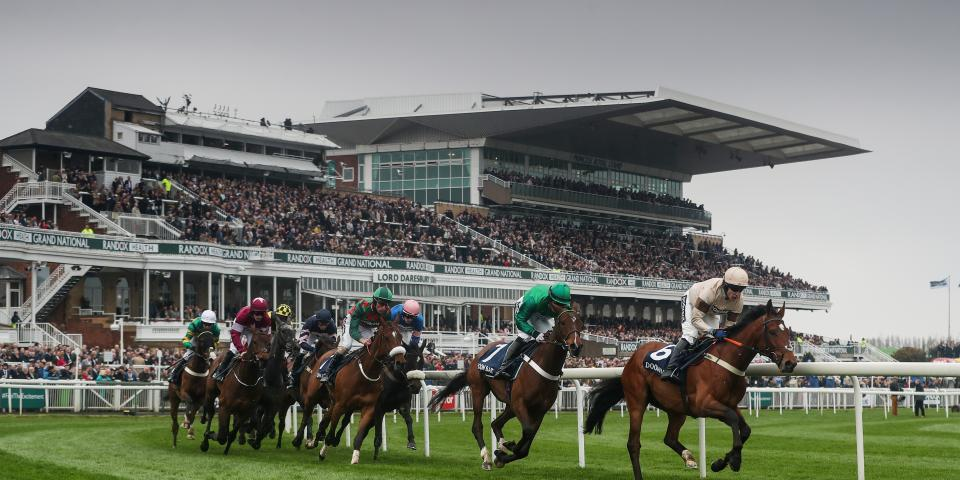 Audience at Aintree